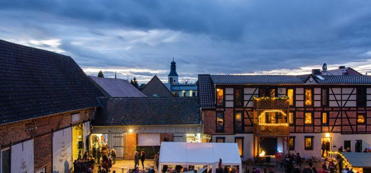Hofweihnachtsmarkt am 2. Advent 2019 zwischen 13 und 19 Uhr